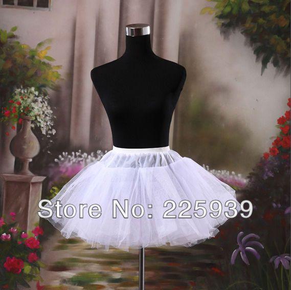 2016新しい到着ミニショートペチコートcrinolinesフォーマル用ショートウエディングドレスイブニングドレスウェディングドレス