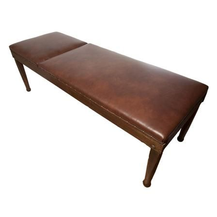 Leather 1930's Physician's Table