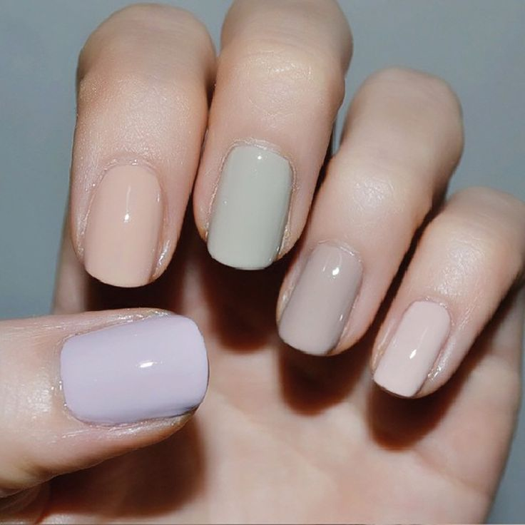 Nail polish trends that will last all week. Hint: They are gorgeous pastel colors.
