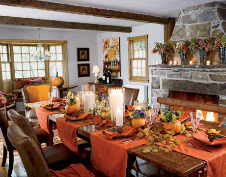Fall Dining Room Table Thanksgiving And Decor