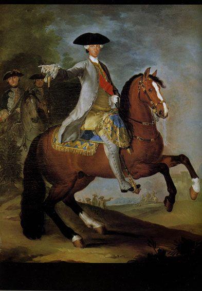 Ritratto equestre di Carlo di Borbone, Museo di Capodimonte - Risposta 869: ideatore della reggia di Capodimonte