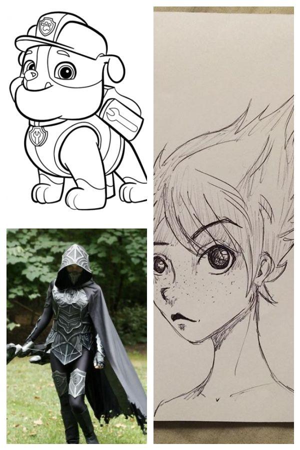 Paw Patrol Ausmalbilder Jungs Animedrawings Anime Animedibujosparacolorear Ausmalbilder Jungs Patrol Paw Anime Drawings Anime Drawings