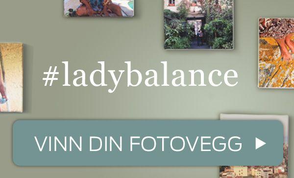 Vinn din personlige fotovegg: http://ladybalancevegg.jotun.no/