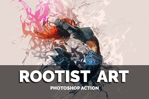Rootist Art Photoshop Action By Colors Warrior On Creativemarket