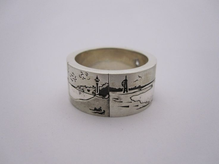 Put your favorite New Zealand image on your wedding band. by seventysixdesign. This was one customers awesome spot .