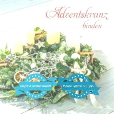 Adventskranz binden Blumenarrangements im Haus – Blumenarrangements im Haus