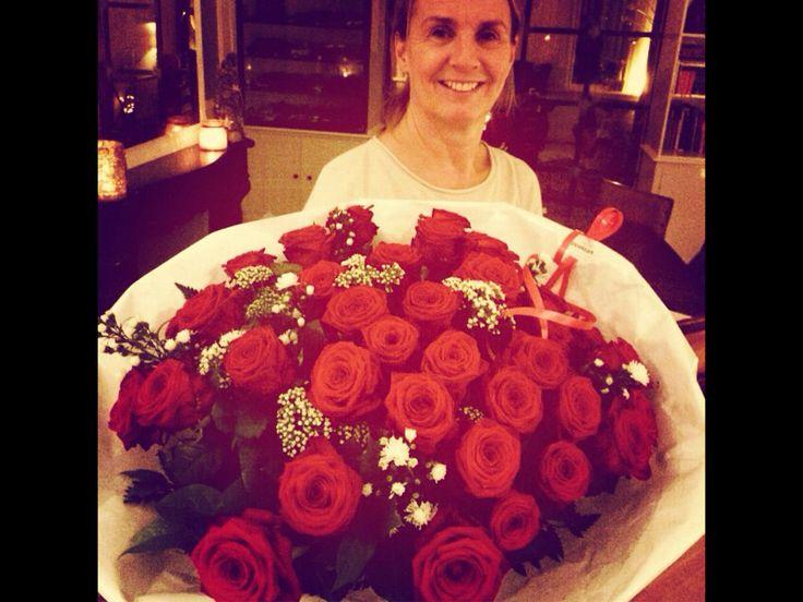 Trouwdag rozen