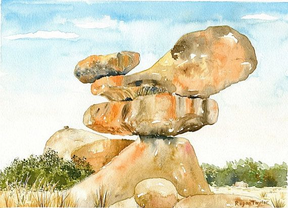 Balancing rocks zimbabwe epworth mashonaland near for Garden design ideas in zimbabwe