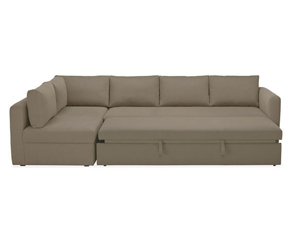 Oxford Pop-Up Platform Sleeper Sofa with Chaise - Sleeper