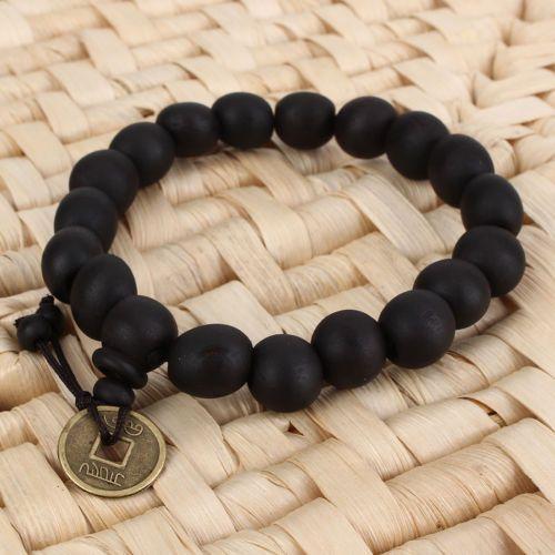 Wood-Buddha-Buddhist-Prayer-Beads-Tibet-Bracelet-Mala-Bangle-Wrist-Ornament