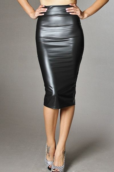17 Best images about Leather skirt on Pinterest | Long leather ...