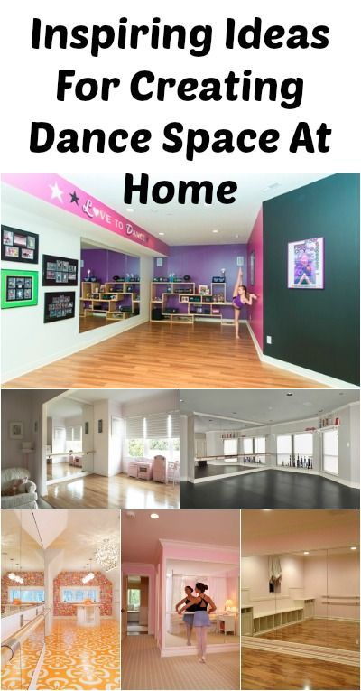 3319dcc284d Ideas For An At-Home Dance Space   How To s   Pinterest   Home dance, Dance  and Home dance studio