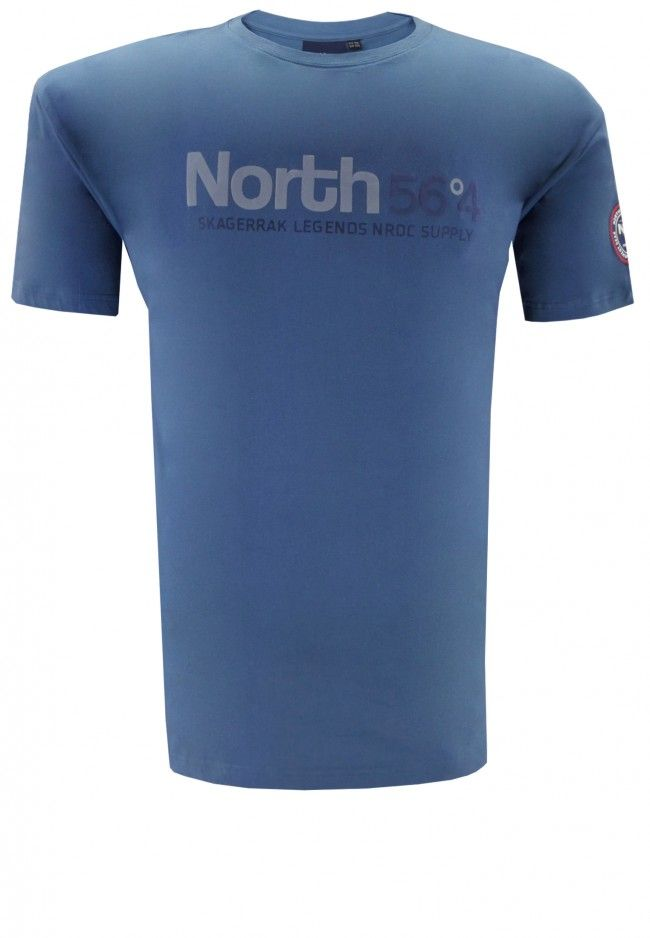 North 56.4 T-shirt Plus Size zomercollectie herenmode Spring Summer 2015 grote maten mannen kleding