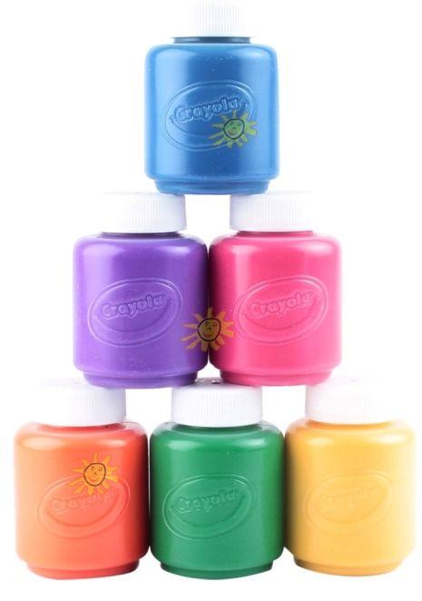 Farby Neonowe ZMYWALNE Crayola 6 szt Super Zabawa (5496025112) - Allegro.pl - Więcej niż aukcje.