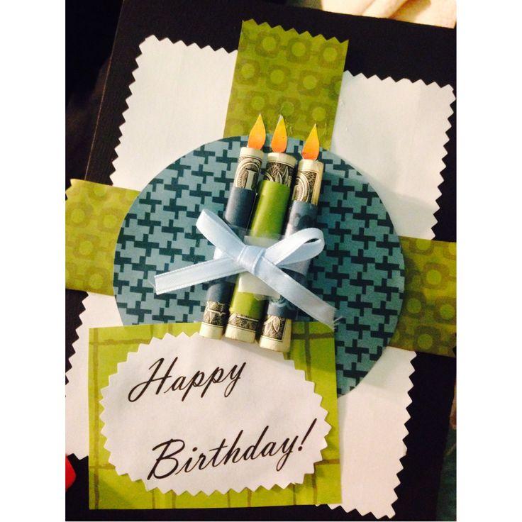 Money gift card present birthday money wrap