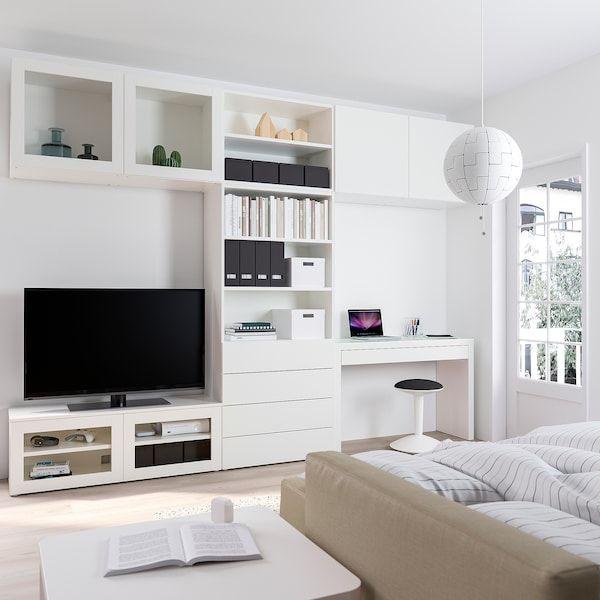 Platsa Media Storage Combination Width 320 Cm Ikea Media Storage Ikea Living Room Bedroom Combination