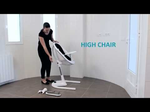 mima moon highchair instruction video
