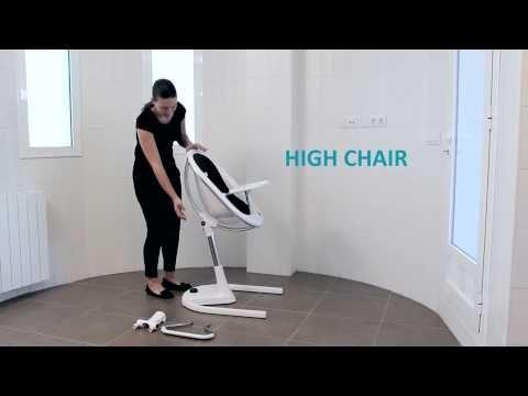mima moon highchair instruction video