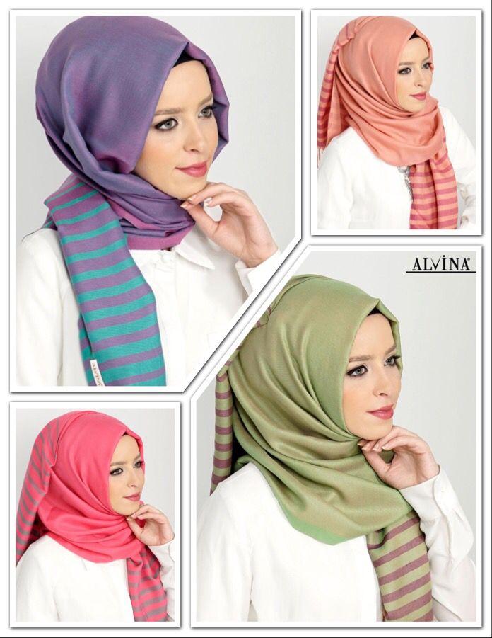 9522-1 Alvina Tesettür Şerit Şal 25.00 ₺, www.alvinaonline.com'da. #alvina #alvinamoda #alvinaforever #hijab #hijabstyle #yenisezon #eşarp #şal #fashion #moda