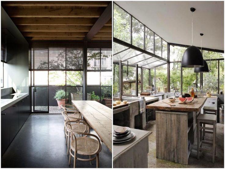 17 best images about cuisine on pinterest open shelf With superior idee deco de jardin exterieur 6 deco cuisine bois naturel
