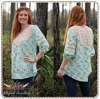Girl Charlee Fabrics: Tutorial Tuesday :: Sleeveless Wanderer Tunic from Striped Swallow Designs