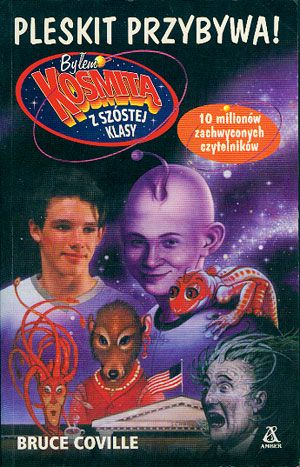 Pleskit przybywa!, Bruce Coville, Amber, 2002, http://www.antykwariat.nepo.pl/pleskit-przybywa-bruce-coville-p-14794.html