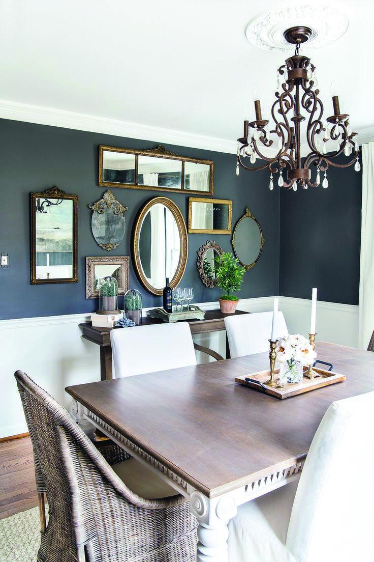 Modern Dining Room Decor Ideas To Wow Your Attendees Homes Tre Ruang Makan Desain Ruang Makan Ruang Makan Modern