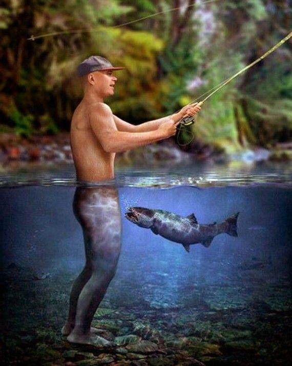Top 32 Funny Fishing Pictures
