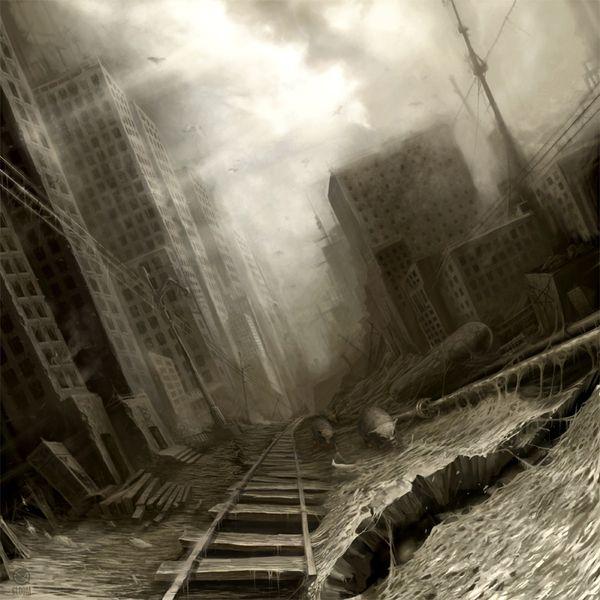 Ciudad de la decadencia by Anton Semenov.