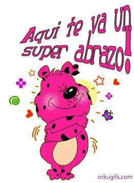♥♥FRASES DE MOTIVACION, SUPERACION, AMOR Y MAS♥♥: AQUI TE  VA UN ABRAZO