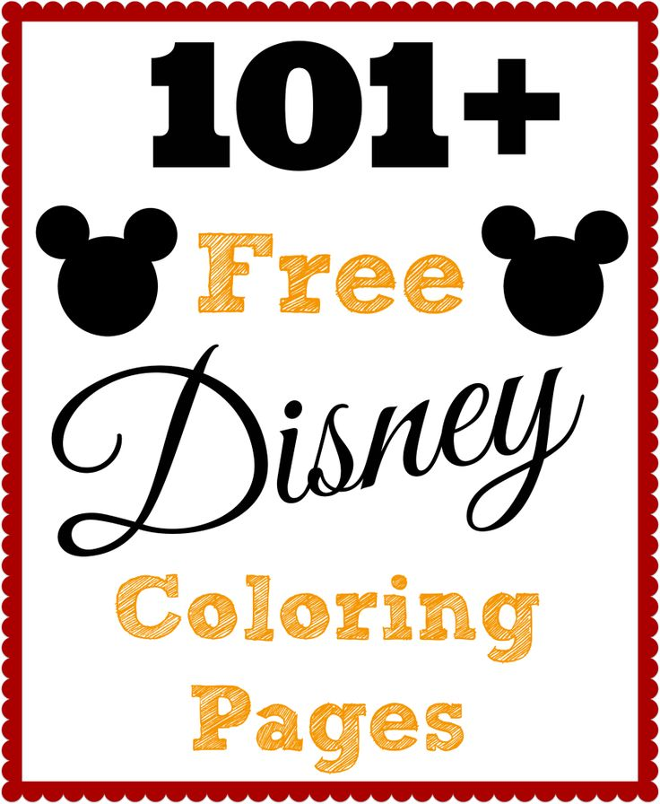 101 free printable disney coloring pages - Coloring Pages Print Disney