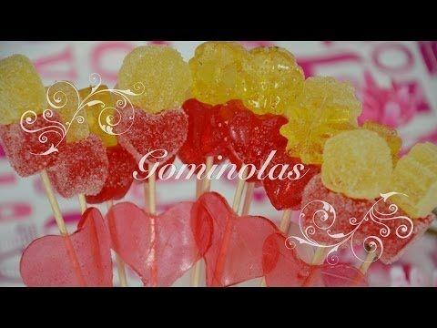 Gominolas Caseras en Thermomix para San Valentin Faciles - Recetas de Cocina por Chef de mi Casa.com - YouTube