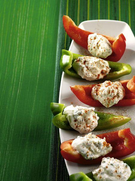 Paprikaschiffchen - Vegetarisches Fingerfood - 5 - [ESSEN & TRINKEN]