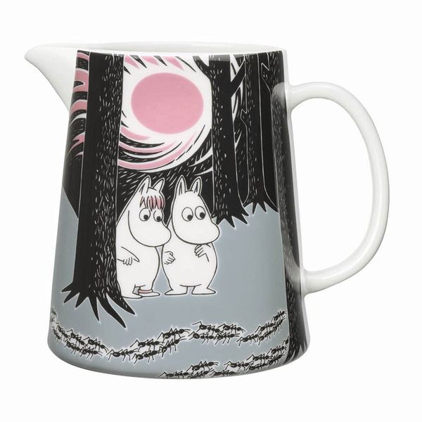 Moomin Adventure move pitcher by Arabia. Gorgeous! #moomin