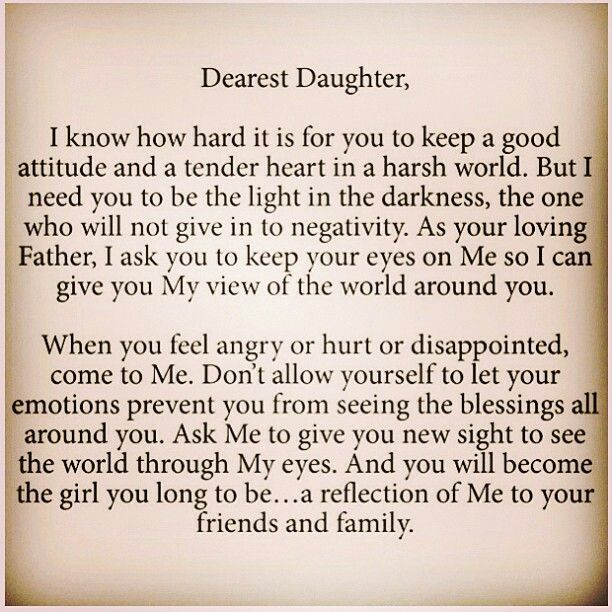 Letter To My Daughter Quotes. QuotesGram