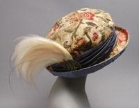 Titanic Style Hat:  1912