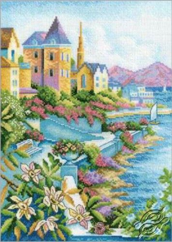 Town by the Sea - Cross Stitch Kits by RTO - M248