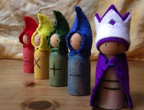 Natale: Eco-giocattoli in legno, fatti in casa