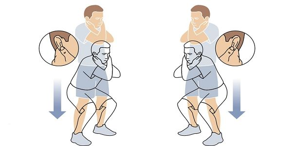 En croisant les bras et en pressant les lobes de vos oreilles, vous stimulez votre cerveau. Découvrez le yoga du super cerveau !