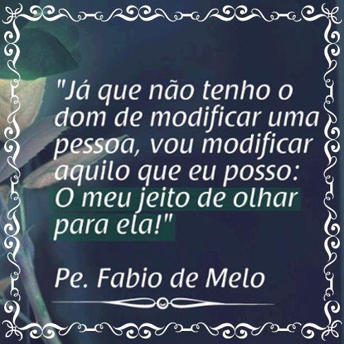 NAO TENHO O DOM DE MODIFICAR UMA PESSOA......