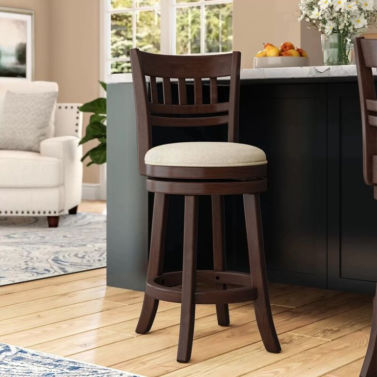 Leda Swivel Bar & Counter Stool in 2020   Counter stools ...
