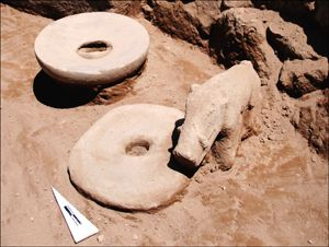 Archaeologists have discovered 11,000-year-old beer-brewing troughs at Göbekli Tepe, Turkey. The site contains a kitchen with large troughs that could have held up to 42 gallons, or 160 liters, of liquid.