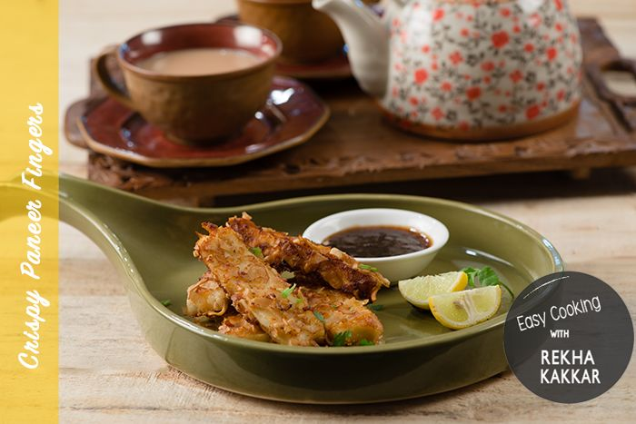 An awesome tea time snack recipe, these crispy paneer fingers taste very good and super quick to make anytime. Kids and adults like them alike and not only tea, these are great finger food to go with your drinks on a weekend party too. We Indians are known for our love of tea and coffee. I have alwa...