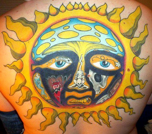 jeremy 39 s sublime sun tattoo so sick tattoos pinterest sun love and sun tattoos. Black Bedroom Furniture Sets. Home Design Ideas