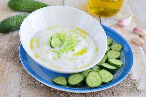 Завтраки, обеды, ужины - Греческий соус-дип Тцатцики ( Tzatziki )