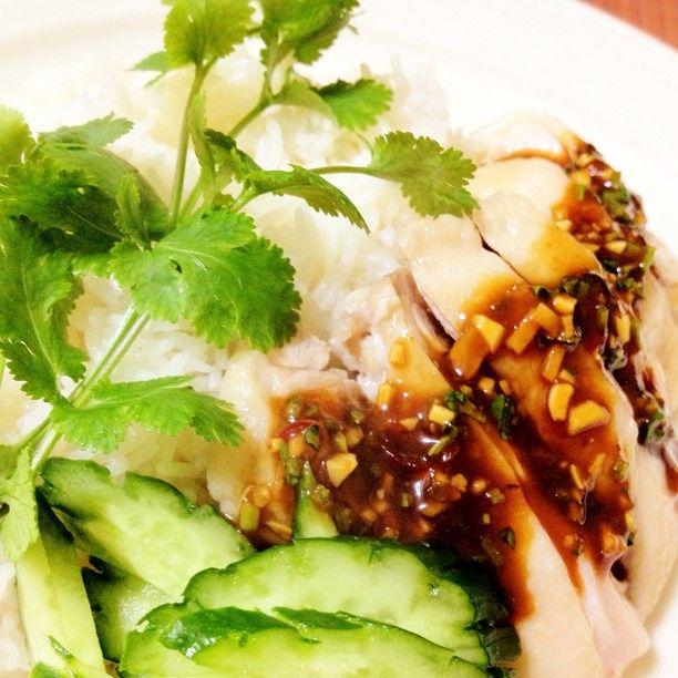 簡単20分タイ料理!カオマンガイ(チキンライス)  |  あさこ食堂