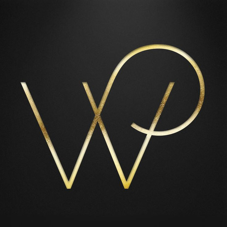 New Logo for Wolfgang Puck by Pearlfisher - a great example of incorporating texture & color into your design