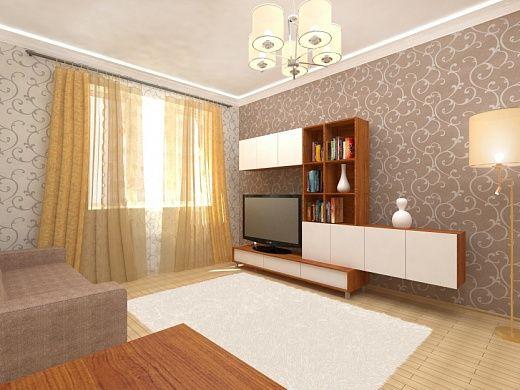 1-но комнатная квартира 37.91m²
