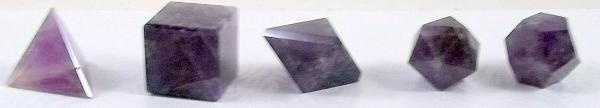 Sacred Geometry Amethyst Gemstone Collection Free Shipping Price Drop