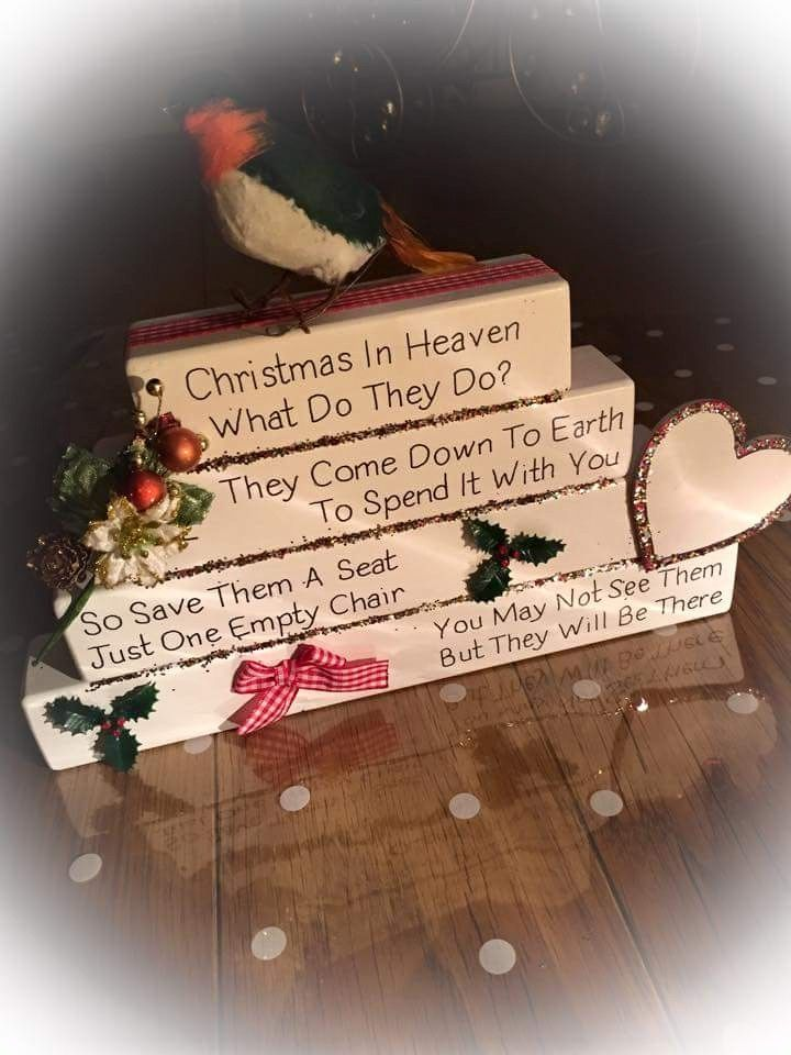 Christmas in Heaven- What do they do? They come down to ...